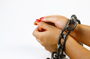 hands in chains